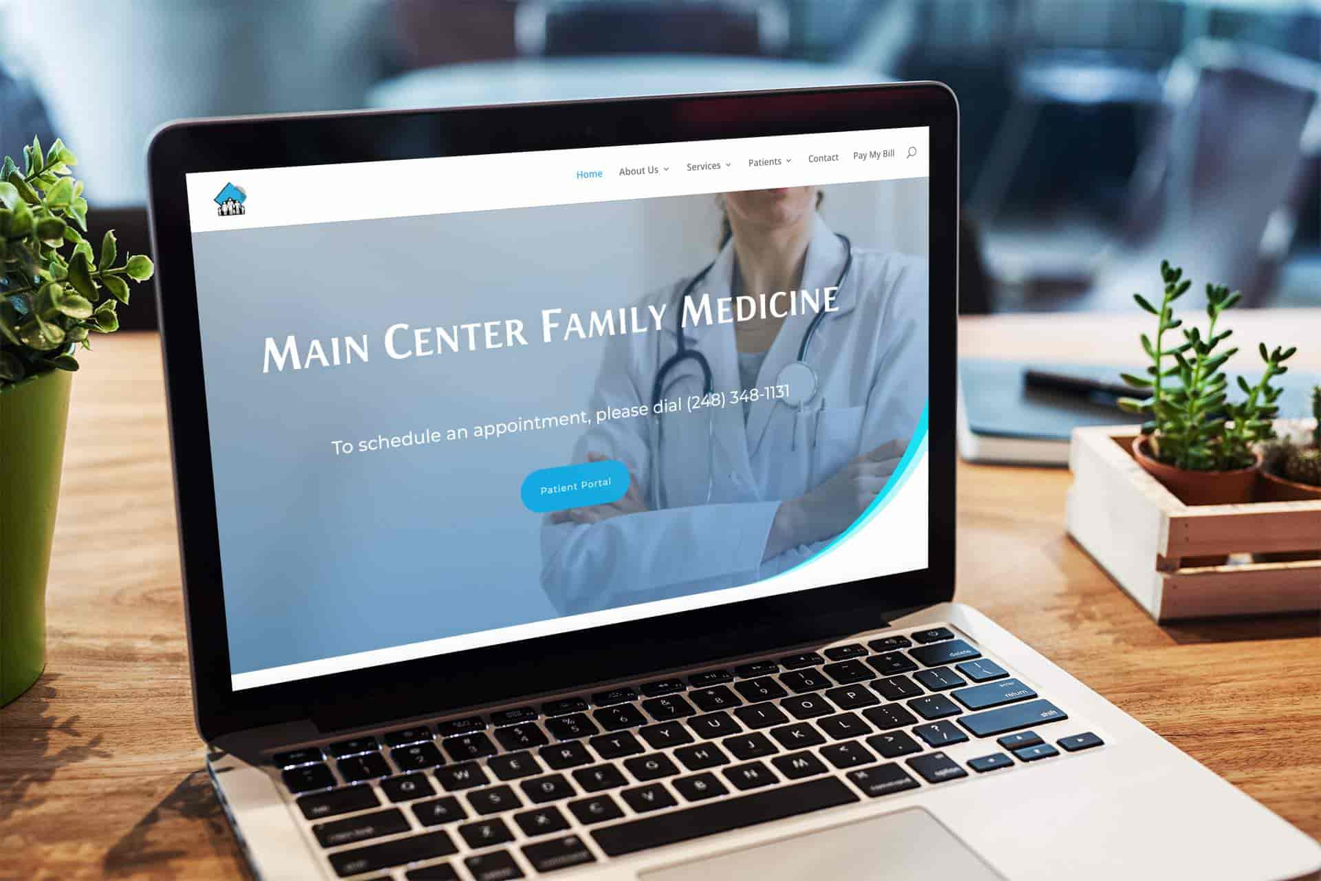 main center family medicine redesign